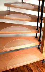 Stufenmatten Set für Treppenstufen  15 Stück, klar  Größe nach Wahl  BaumarktÜberprüfung und Beschreibung