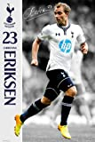Poster Football Tottenham Hotspur Eriksen 13/14 with Accessory multicoloured