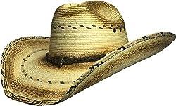 BULL-SKULL HATS, PALM LEAF COWBOY HAT, TRUMAN 107
