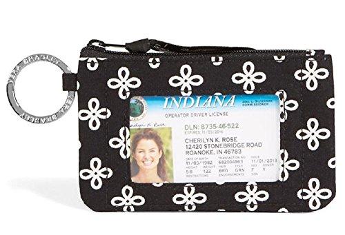 Vera Bradley Zip ID Wallet Coin Purse Case in Mini Concerto