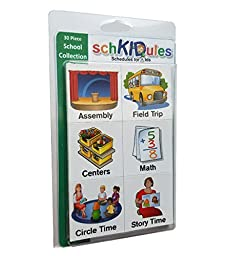 SchKIDules Activity Magnets: 30 Pc School Collection