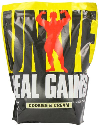 Universal Nutrition Real Gains Cookies and Cream Powder 3176g