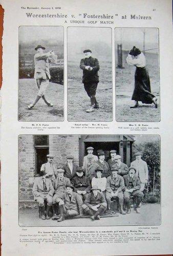 1908 Massy Golf Sport Braid Deal Foster Worcestershire
