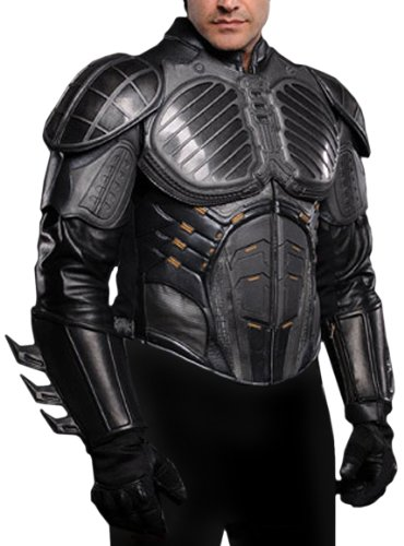 UD Replicas Batman Begins Nomex Pre-Suit Leather Jacket, Large