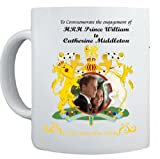 Prince William and Kate Middleton Engagement Commemorative Coffee Mug Cup - 1...