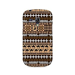 Ebby Brown Camel Premium Printed Case For Samsung S3 Mini 8190