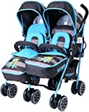 iSafe TWIN OPTIMUM Stroller - iDiD iT Design The Best Stroller In The World!