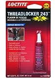 Loctite 1330799 243 Blue Oil Resistant Threadlocker Tube - 6 ml