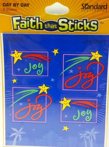 Joy Stars Faith That Sticks Stickers