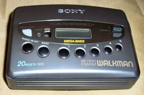 Sony WM-FX453 Stereo Cassette Player