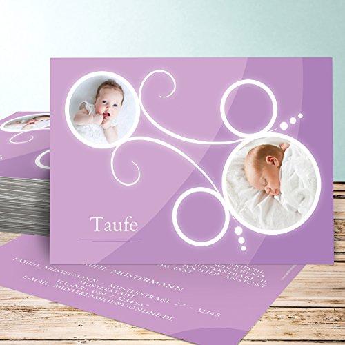 Einladungskarten zur Taufe selber basteln, Tweety 5 Karten, Horizontal ...