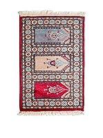 Navaei & Co. Alfombra Kashmir Rojo/Multicolor 90 x 59 cm