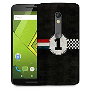 Snoogg Winner Designer Protective Phone Back Case Cover For Motorola Moto X Play