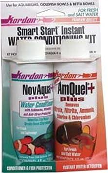 buy Kordon #31314 Novaqua /Amquel Kit Water Conditioners For Aquarium, 4-Ounce