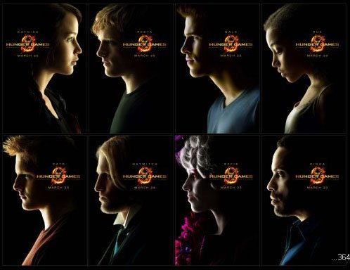 Hunger Games Movie Poster #02 24x36