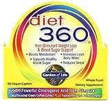 Garden of Life Diet 360 Diet Supplement, 90 Count