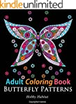 Adult Coloring Books: Butterfly Sampl...