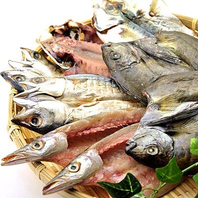 和歌山県産 干物セット 4種類 8枚 ( あじ サバ カマス あいご )