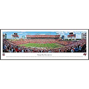 NFL Tampa Bay Buccaneers Framed Panoramic Stadium Photo by Blakeway Worldwide Panoramas