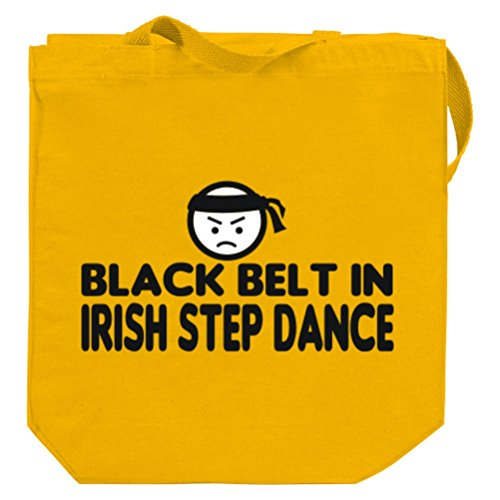 BLACK BELT IN Irish Step Dance Canvas Tote Bag