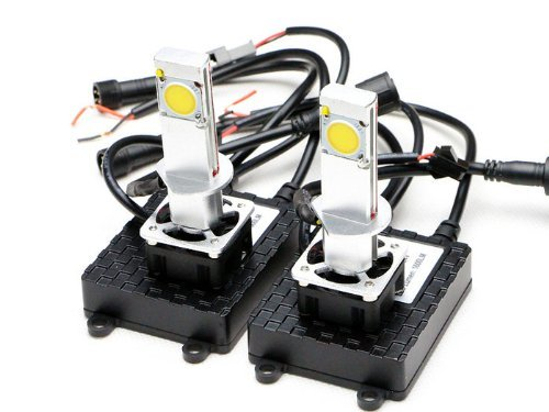 New Brights Led Headlight Conversion Kit - All Bulb Sizes - 42W 3200Lm Cree Led - Replaces Halogen & Hid Bulbs - H1