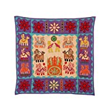 Rajrang Home Décor Embroidered Patch Work Beige Wall Hanging - B00TQRKS78