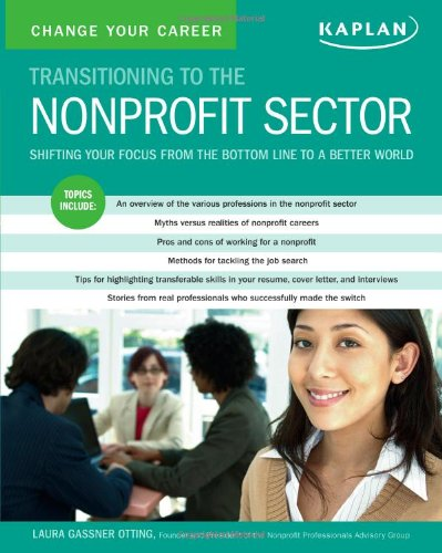 Change Your Career:  Transitioning to the Nonprofit