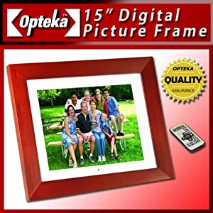 amazoncom opteka opt15 15inch digital picture frame
