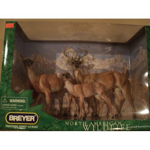 Horses Horse 3125 WhiteTail Deer Family North American Wildlife NIB