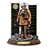 Firefighter statue gift for Christmas or Birthday