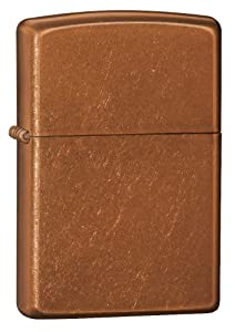 Zippo 21184 Windproof lighter without logo, Toffee, Regular