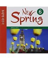 New Spring Anglais 6e Lv1 - 2 CD Audio Eleve - Édition 2006