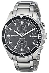 Fossil Men's CH2935 Analog Display Analog Quartz Silver Watch