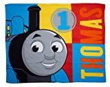 Character World Thomas and Friends Power Fleece Blanket, Multi-Color