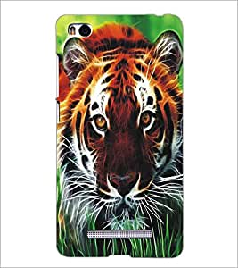 XIAOMI MI4I TIGER Designer Back Cover Case By PRINTSWAG