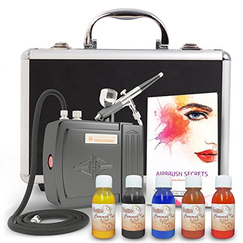The best all in one full mini airbrush kit compressor for Airbrush tattoo kit