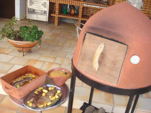 Outdoor Pizza Oven - Traditional Beehive Wood Fired Oven With Portable