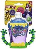 Nuby 3D Monster 2 Handle No Spill Super Spout, 7 Ounce