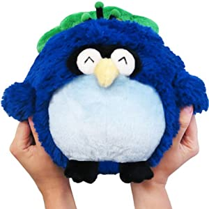 "Mini Squishable Peacock 7"" Plush Toy"