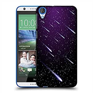 Snoogg background with meteor shower Designer Protective Back Case Cover For HTC Desire 820