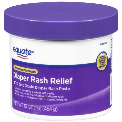 Equate Maximum Strength Diaper Rash Relief, 16 Oz front-408075