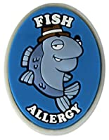 AllerMates Fish Allergy Charm for Multi-Allergy Wristband: Detective Fin by Awearables, Inc.