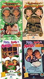Mary Kate & Ashley Collection of 4 VHS