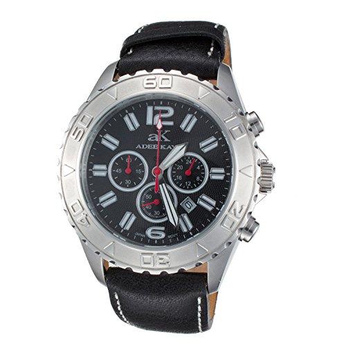 Adee Kaye Professional Stainless Steel Watch Ak301-1M-Black