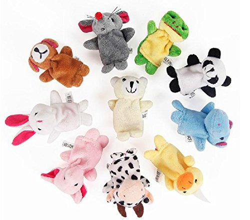 10-pcs-Tiny-Animal-Farm-Finger-Puppet-Toy-Cloth-Toy