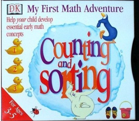 DK MY FIRST MATH ADVENTURE COUNTING AND SORTING