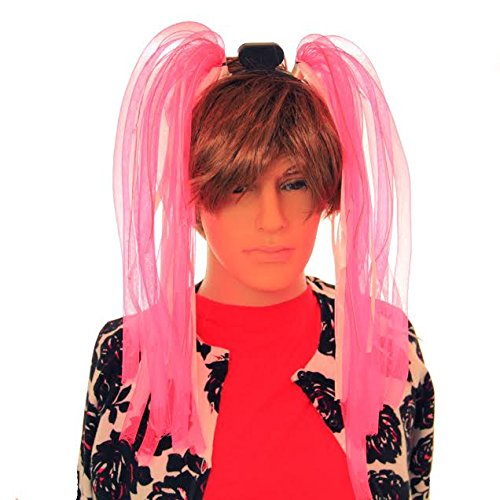 Dazzling Toys LED Light Up Party Dreads - Pink
