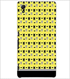 PrintDhaba Pattern D-1626 Back Case Cover for SONY XPERIA Z4 (Multi-Coloured)