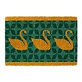 Three Swans-Premium-Coir & Rubber-16X24x1inch-Doormat