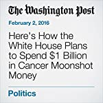 Here's How the White House Plans to Spend $1 Billion in Cancer Moonshot Money | Greg Jaffe